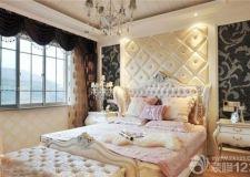 欧式卧室背景墙 优雅魅力