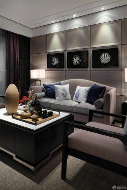 新房客廳沙發背景墻裝修效果圖大全