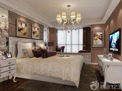 歐式室內裝潢臥室裝修風格床頭背景墻效果圖