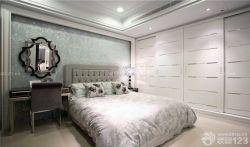 臥室裝修風格白色衣柜圖片大全