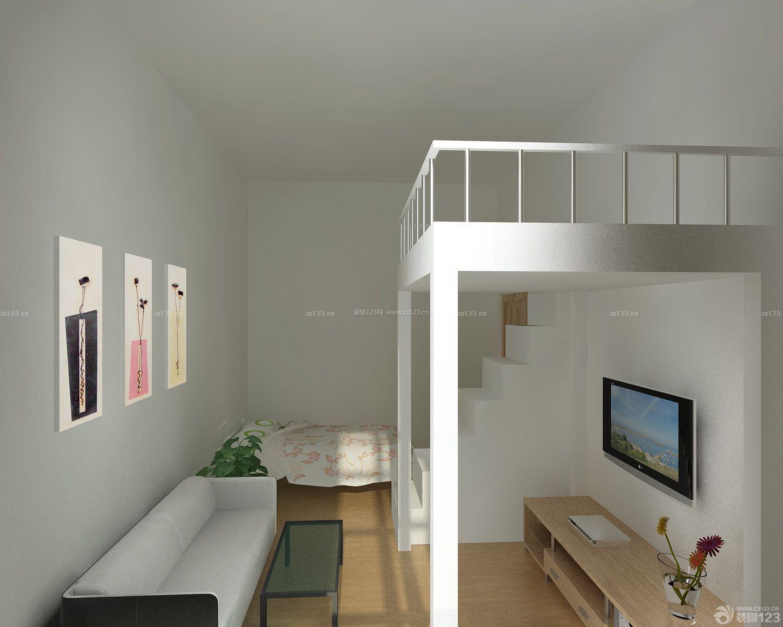 简约风格30平米单身公寓装修效果图