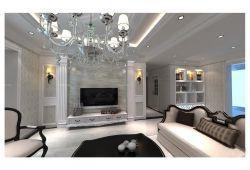 簡約歐式風格新房客廳室內電視背景墻裝修圖大全