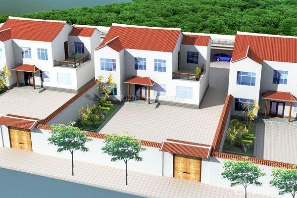 农村别墅设计图 悠闲自在的生活态度