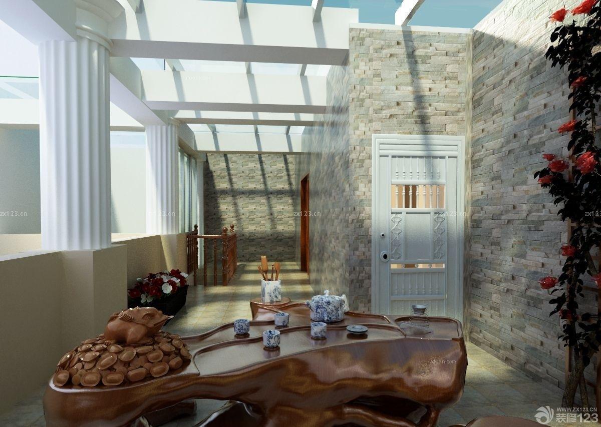 休闲区布置天花板吊顶水晶灯图