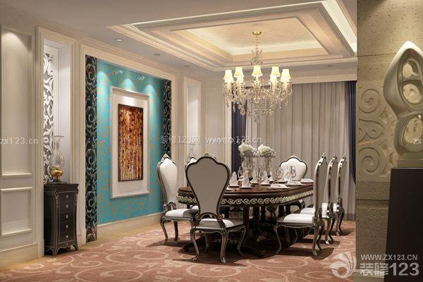 欧式餐厅背景墙效果图-挂画-欧式餐厅背景墙效果图欣赏及材质介绍