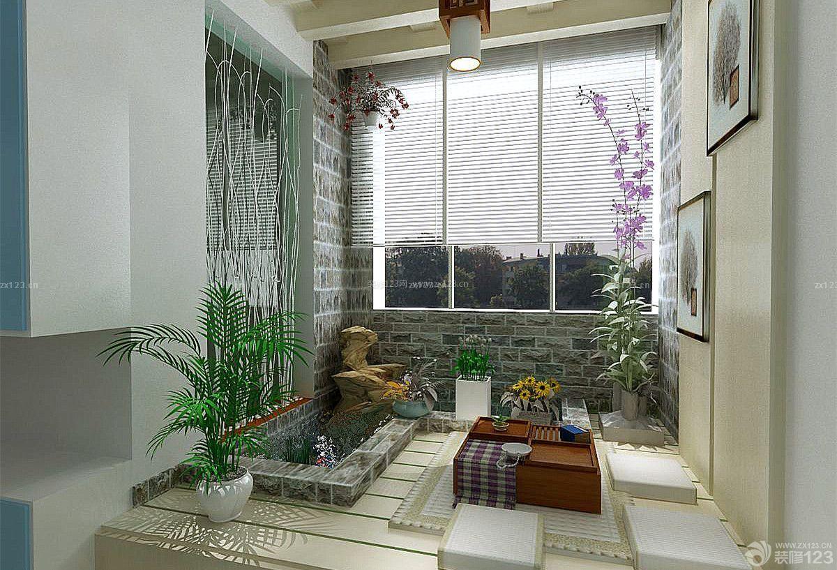韩式风格入户花园装修样板房