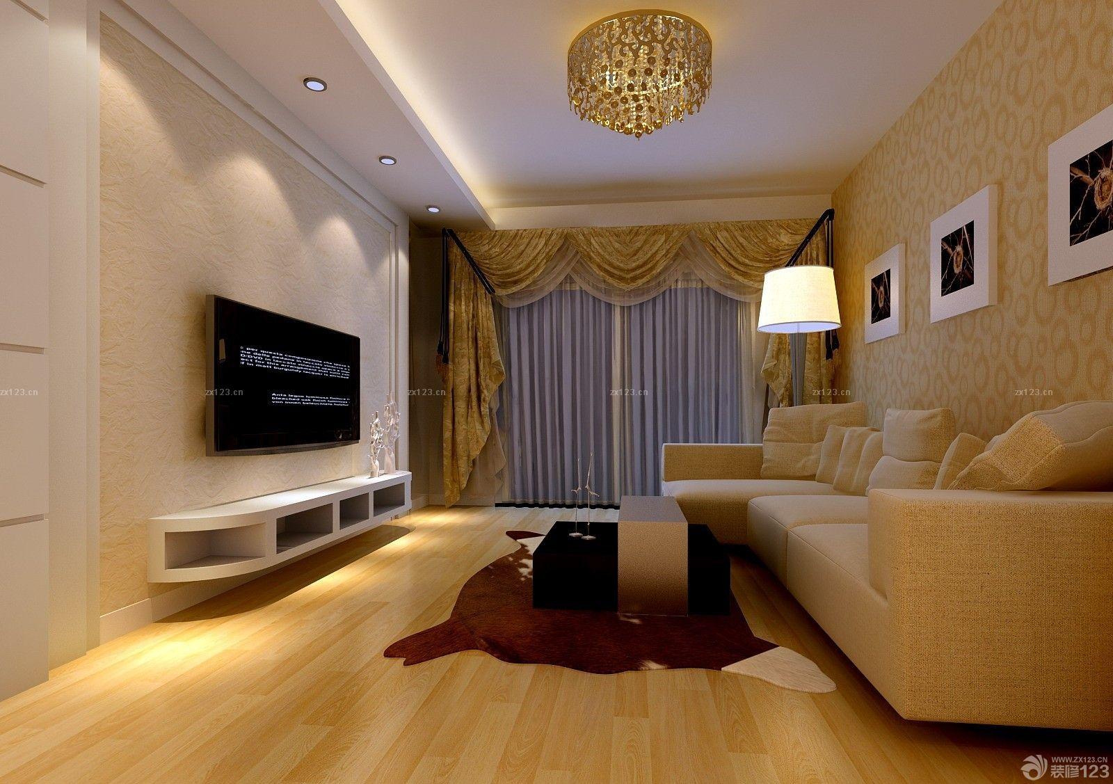 温馨70平米房子客厅装修效果图