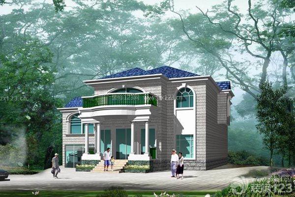 农村别墅图片 建房装修质量抓首位
