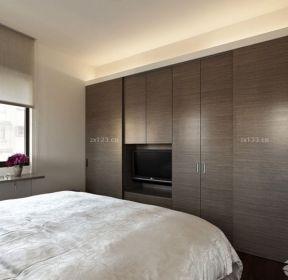 15平米臥室入墻衣柜布置圖-每日推薦