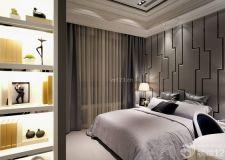 卧室床头背景墙效果图看背景墙装修