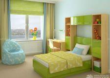 儿童卧室颜色 孩童眼中所见的缤纷世界