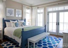 卧室颜色装修效果图 色彩万千只饮一瓢