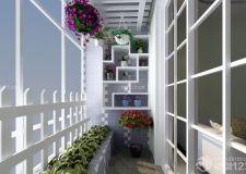封闭式阳台花园的花卉品种选择