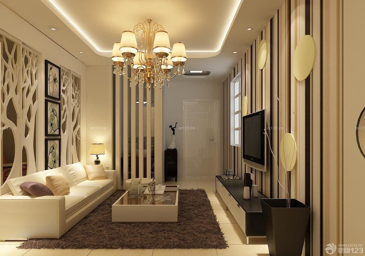 客厅装修风格地毯布置图欣赏_装修123效果图