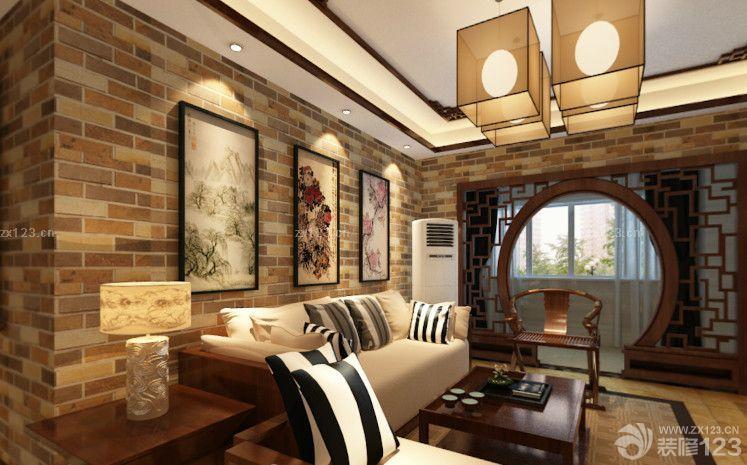 禅意中式风格室内门洞设计图片展示