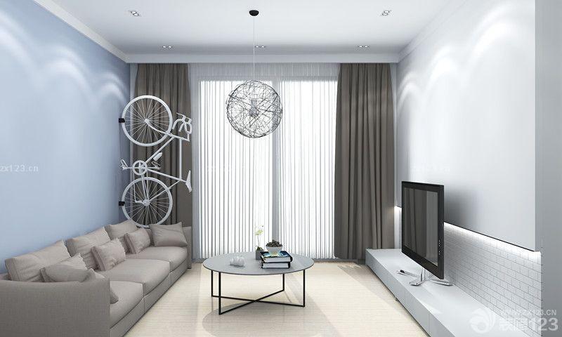 简约风格家装小客厅设计图片