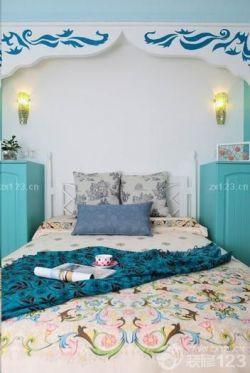 地中海風格裝飾臥室設計圖
