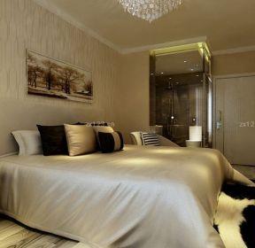 現代家居15平米臥室軟床布置圖-每日推薦
