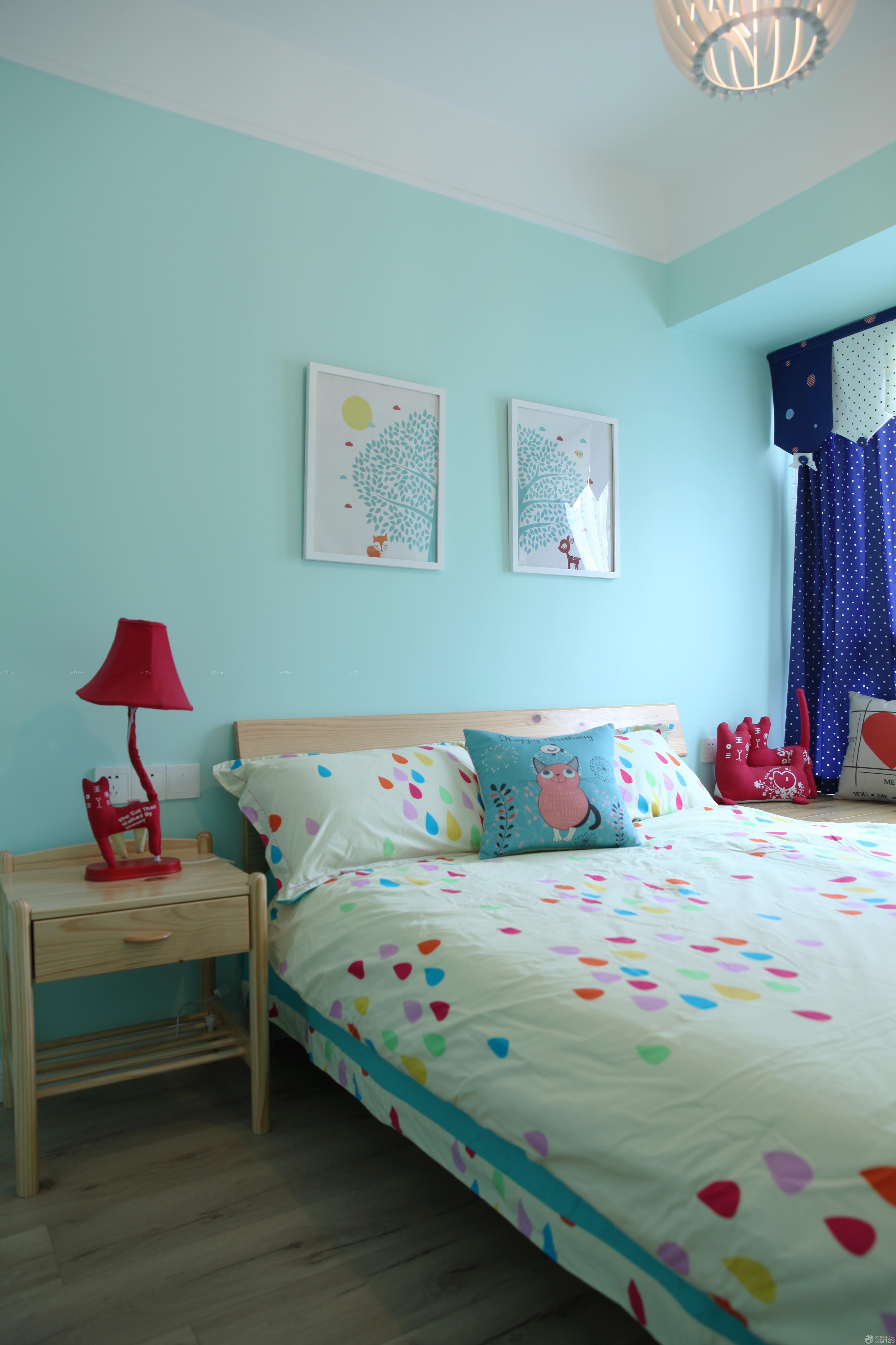 小清新卧室效果图-哥特卧室效果图-小卧室装修效果图-70平客厅装修
