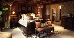 現代美式 臥室設計 地毯