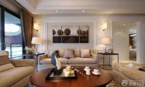歐式室內裝潢 家裝客廳 客廳裝潢設計效果圖