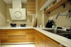 2014家居廚房原木櫥柜圖片