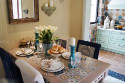 地中海風格小餐廳設計圖