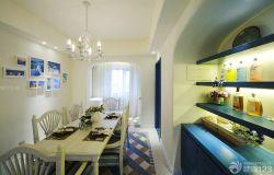 地中海風格時尚餐廳設計圖