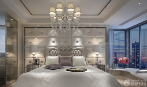 現代歐式風格 背景墻設計 床頭背景墻