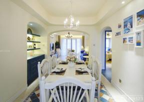 地中海风格建筑图片 餐厅装饰 客厅餐厅一体