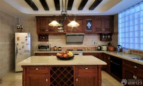 美式裝修風格 美式廚房裝修效果圖 廚房設計 廚房裝飾