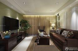 客廳沙發電視柜裝飾設計圖