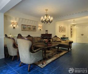 现代美式 交换空间客厅装修图片 家庭客厅装修效果图
