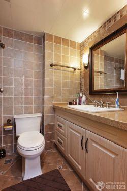 110平房屋衛生間洗手盆圖片