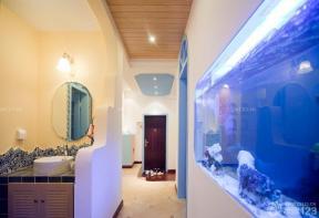 地中海风格装饰 洗手间 卫生间设计