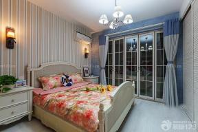 地中海风格设计 小型卧室装修 卧室装饰