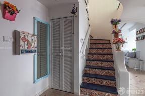 地中海風格裝飾 樓梯間 家用樓梯
