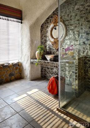地中海风格装饰 洗手间 大卫生间