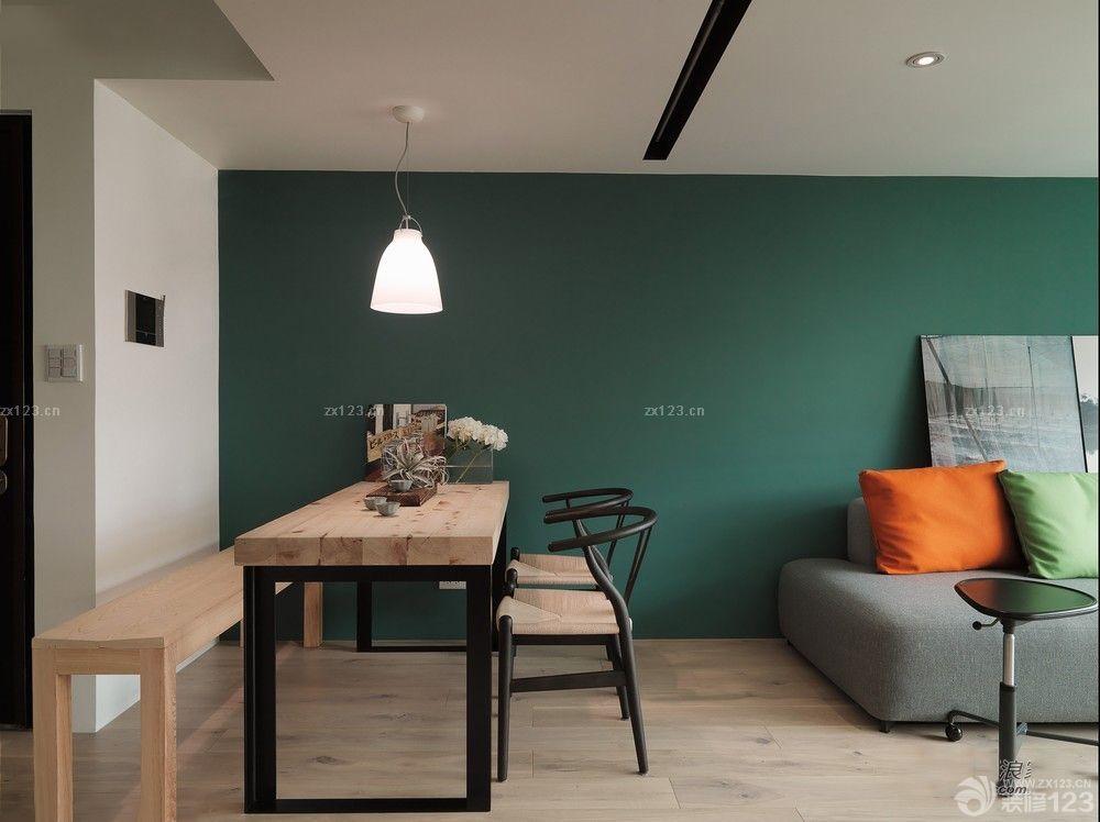 85平户型美式风格卧室墙绘设计图片图片