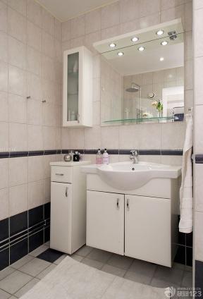 80平米衛生間洗手盆圖片 衛生間瓷磚顏色