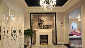 150平米 現代歐式風格 走廊玄關 吊燈