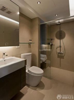 130平米 衛生間設計 浴室裝飾效果圖