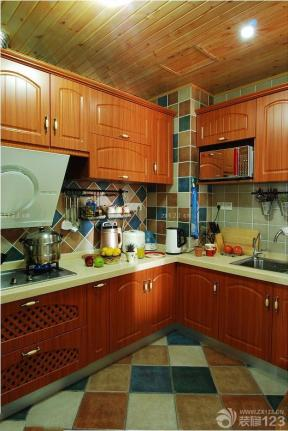 150平米 地中海風格設計 廚房設計
