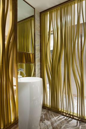 100平米 衛生間洗手盆圖片 洗手間