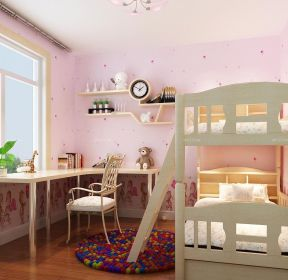 80平方米兒童房上下床裝修圖欣賞-每日推薦