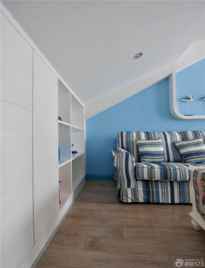 地中海風格建筑圖片 家裝客廳設計 布藝沙發
