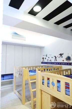 兒童房設計 創意兒童房間 90平米家居