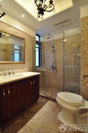 浴室玻璃隔斷 衛浴 藝術燈具