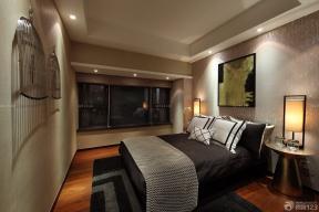 压纹壁纸 卧室装修效果图大全