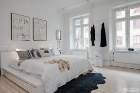 120平米房子 北歐風格 臥室裝修效果圖大全